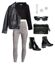 """""""Untitled #5841"""" by lilaclynn ❤ liked on Polyvore featuring Golden Goose, Forever 21, Yves Saint Laurent, Acne Studios, Chanel, Rodin, Diamond Star, YSL, saintlaurent and yvessaintlaurent"""
