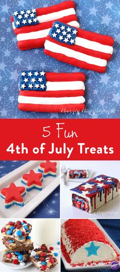 4th of july red white and blue cake