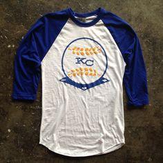 KC Wheat Baseball by Normal Human Royals Baseball, Kansas City Royals, Modern Outfits, American Apparel, Love Fashion, Style Me, Unisex, How To Wear, T Shirt