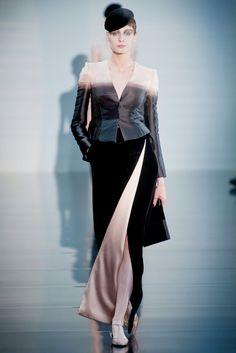 Fall 2012 Couture Armani Privé Collection