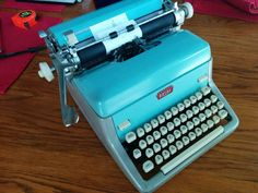 Custom Order for skoropp  Royal FP Typewriter  by MahoganyRhino