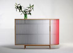 PLISSEE sideboard by Anne Boenisch