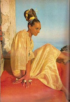Marisa Berenson for Vogue, 1967.