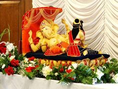 thailand festival decorations | Decoration for Ganesh Chaturthi at Home / Mandap : Ideas
