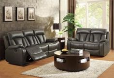 Ackerman Living Room Collection Grey