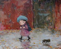 20 cuadros del pintor Nino Chakvetadse, un trabajo que calienta el alma…