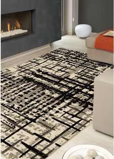 Express your personal style without saying a word with the help of the stunning Prague area rug. Decor And Accessories. Linear Pattern, Interior Design Inspiration, Accent Pieces, Decorating Tips, Shag Rug, Animal Print Rug, The Help, Brick, Area Rugs