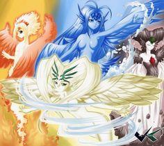 Carta Clow/Sakura Viento (the Windy), Agua (the Wartery), Fuego (the Fire) & Tierra (the Earthy) - Sakura Card Captor Cardcaptor Sakura, Kero Sakura, Digimon, Otaku, Pokemon, Xxxholic, Card Captor, Clear Card, Magical Girl
