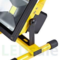 Kannettava Ladattava LED Valonheitin 30W - Kannettavat LED-Valonheittimet - LED Valonheittimet