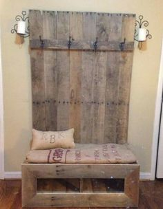 What a great addition to an entryway! I think I'd just make the padding a little softer. ;)