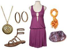 Megara inspired outfit from Disney Hercules