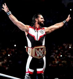 God I love this gear sm😍🤩! What is your guys favorite gear that Seth has worn in the past? Wrestling Rules, Wrestling Stars, Wrestling Wwe, Wwe Seth Rollins, Seth Freakin Rollins, The Shield Wwe, Wwe Roman Reigns, Kevin Owens, Wwe Champions