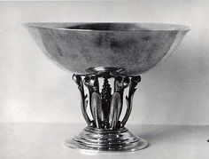 Bowl Manufacturer: Georg Jensen (Danish, Rådvad Hellerup) Designer: Johan Rohde (Danish, Randers Hellerup) Date: 1918 Medium: Silver Maker Culture, V60 Coffee, Large Art, Metropolitan Museum, Scandinavian Design, Art Museum, Art History, Metal Working, Art Decor