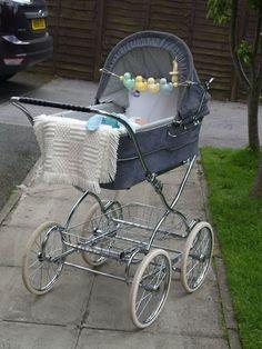 Baby Doll Strollers, Pram Stroller, Baby Prams, Stroller Blanket, Mothercare Prams, Silver Cross Prams, Baby Canvas, Vintage Pram, Prams And Pushchairs