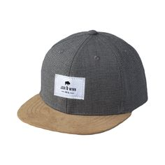 BABY & TODDLER SNAPBACK HATS at www.jackandwinn.com. This houndstooth hat is a favorite!