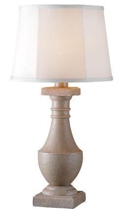 kenroy lighting 32194tk lakely one light outdoor table lamp listed