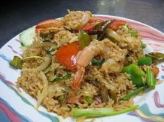 Curry Fried Rice :Egg, onions, bell peppers, and curry paste with your choice of meat  from Mai Thai Restaurant in Fountain Valley #Food #Curry #Rice forked.com