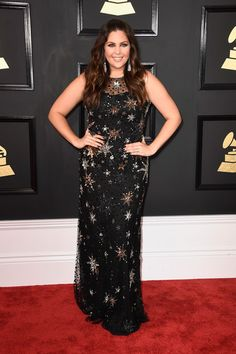 Singer Hillary Scott of Lady Antebellum attends The 59th GRAMMY Awards at STAPLES Center on February 12, 2017 in Los Angeles, California.