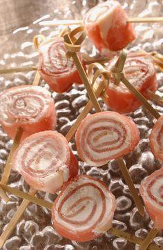 Petits roulés de jambon au fromage, voir la recette des petits roulés de jambon au fromageC'est l'heure de l'apéritif ? Vite une...