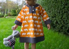 Elephant charlie dress. Great colour and fabric