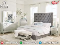 Desain Tempat Tidur Minimalis Modern Elegant Style Luxury Type MMJ-0868