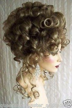 Image result for blonde victorian curls