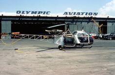 Olympic Aviation Eurocopter SA318C Alouette II Astazou MSN 2352 [SX-HAN]