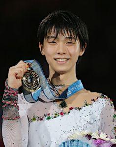 金メダルの羽生=GPファイナル