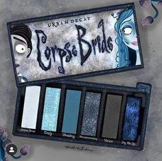 Corpse Bride Eyeshadow Palette by Urban Decay Makeup Kit, Skin Makeup, Makeup Inspo, Makeup Brushes, Beauty Makeup, Makeup Products, Makeup Brands, Fancy Makeup, Cute Makeup