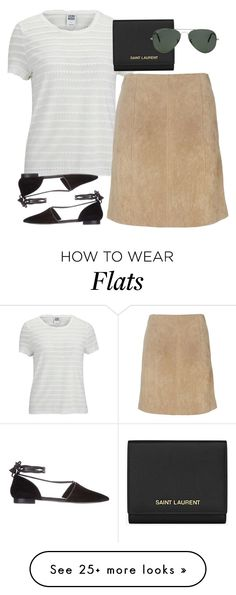 """""""Untitled #1620"""" by erinforde on Polyvore featuring Vero Moda, Wallis, Wittner, Yves Saint Laurent and Ray-Ban"""