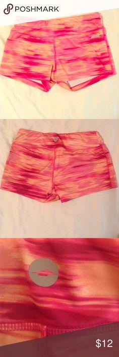 AVIA Spandex Pink and Orange Spandex. Lightly worn. AVIA Shorts