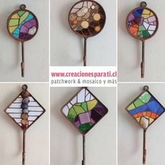 #perchas #mosaico disponibles para entrega inmediata Contáctano Mosaic Garden Art, Mosaic Wall Art, Mosaic Glass, Mosaic Tiles, Butterfly Mosaic, Mosaic Flowers, Mosaic Furniture, Mosaic Madness, Mosaic Crafts