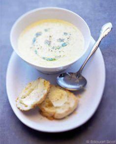 Soupe de maïs et scones au fromage pour 4 personnes - Recettes Elle à Table