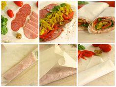Paleo Italian Sub Roll Up - Primal Bites