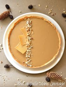 Hazelnut tart and dulcey chocolate, Desserts, Hazelnut tart and dulcey chocolate. Mini Dessert Recipes, Dessert Cups, No Cook Desserts, Mini Desserts, Sweet Recipes, Cake Recipes, Pie Pastry Recipe, Pastry Recipes, Nutella Cake