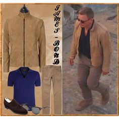 #JamesBond Suede Jacket