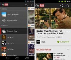 Google actualiza su cliente de YouTube para Android, más Google+ que nunca