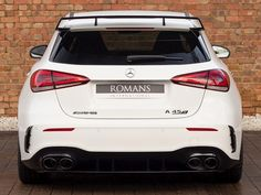 Mercedes AMG A45 S 4Matic+ Plus Used Mercedes Benz, New Mercedes, A Class Amg, Aluminum Blinds, Dual Clutch Transmission, Arms Race, Performance Engines, Bugatti Chiron, Car Detailing