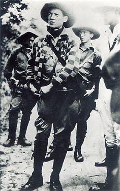 César Sandino en Mérida, Yucatán, a mediados de 1929.