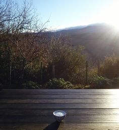 One more #cappuccino before we're off to the Swiss alpes.  February 4 2016 #theviewfromthegrovetoday
