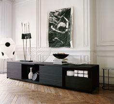"Storage units: MIDA -"" Collection: Maxalto -"" Design: Antonio Citterio"