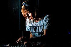 Ellen Allien  #style #djs #music #girldjs #vynils #headphones #fashion #housemusic #gig #edm