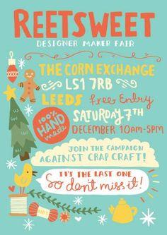 Reetsweet Christmas craft Fair, Leeds Corn Exchange