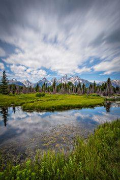 Schwabacher's Landing in Grand Teton National Park WY [OC] [2400x1600]