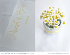 christine meintjes holland wedding workshop 035 Pretty Yellow {Inspiration}