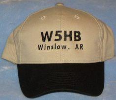 Ham Radio, Ham Radio CallSign Hat, Fathers Day, Amateur Radio Hat