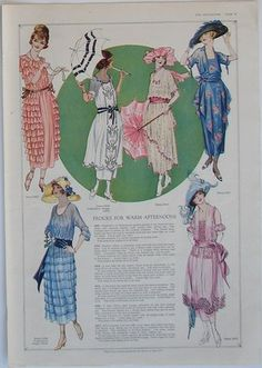 1919-- blue dress upper right
