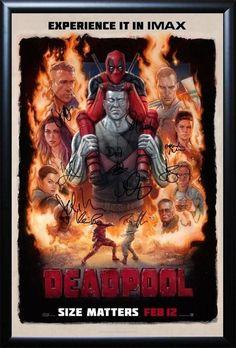 Zazie beetz domino costume deadpool 2 movie costumes props deadpool signed movie poster publicscrutiny Images
