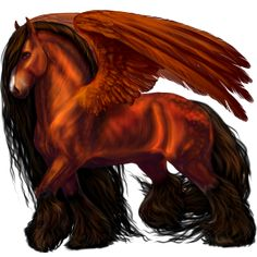 Pegasus Paint Horse Chestnut Overo                                                                                                                                                                                 More
