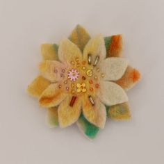 Cute Cupcake Hand-stitched Felt Brooch Handmade by Bauldemalinka 2015 - 2016 http://profotolib.com/picture.php?/41176/category/1702